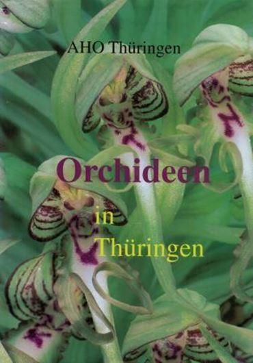 Herausgeg. vom Arbeitskreis Heimische Orchideen Thüringen e.V. 1997. Viele Farbphotographien und Verbreitungskarten. 256 S. gr8vo. Leinen.
