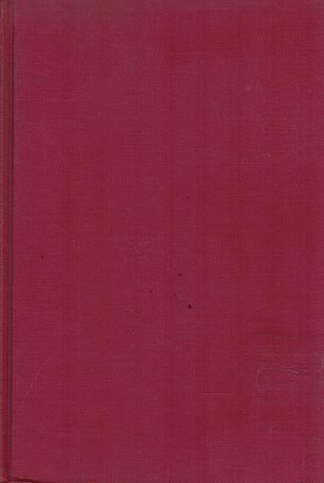 Revision of the Classification of the Oscillatoriaceae. 1968.(Acad.Nat.Sc.Philad.,Monogr.15).illus.370 p.gr8vo.Cloth.