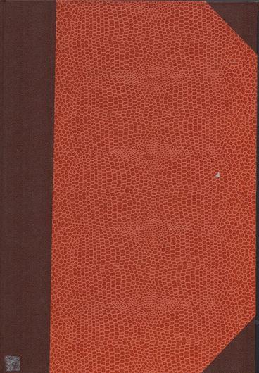 Untersuchungen über Marchantiaceen. 1926. (Botanische Abhandlungen,10). 121 Fig. 88 p. gr8vo. Hardcover.