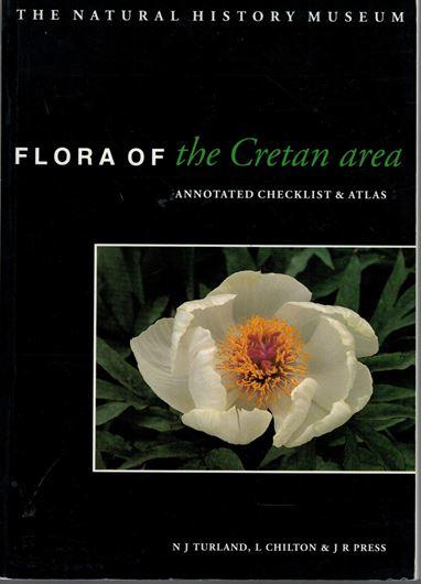 Flora of the Cretan Area. Annotated Checklist & Atlas. 1993. 10 pls. many dot maps. XXI, 439 p. gr8vo.