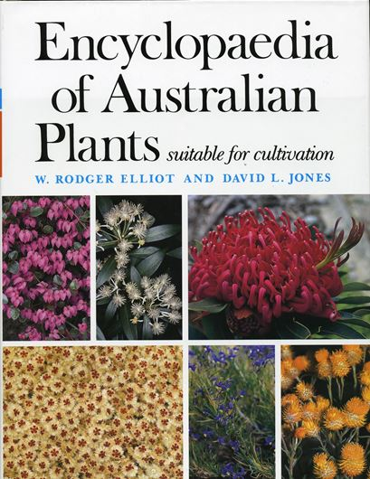 Encyclopaedia of Australian Plants suitable for cultivation. Volume 9: Sp - Z. 2010. Many col. photogr. & line - figures. XV, 571 p. gr8vo. Hardcover.