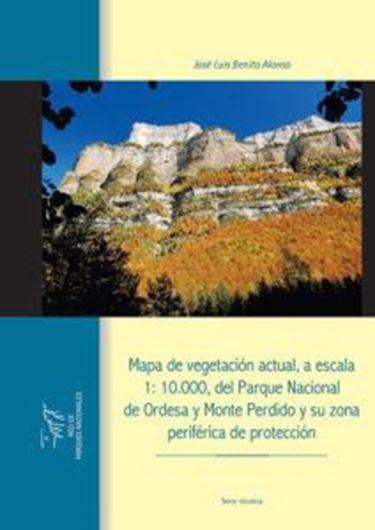 Mapa de vegetacion actual, a escala 1: 10.000, del Parque Nacional de Ordesa y Monte Perdido y su zona periferica de proteccion. 2018. 450 p.(in color).