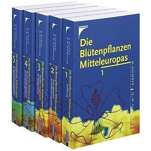 Die Blütenpflanzen Mitteleuropas. 5 Bde. 2004.  7800 (2400 farbige) Abbildungen. 420 Farbphotographien. 2712 S. gr8vo. Broschiert.